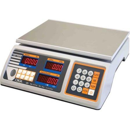 Весы торговые DIGI DS-700E